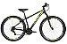 BICICLETA 29 CALOI VELOX V-BRAKE  TAM 17 PRETO/VERDE A20 - Imagem 1