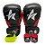 Kit Boxe Luva de Boxe / Muay Thai 12oz PU + Bandagem + Bucal - Preto com Vermelho - Sulsport - Imagem 1