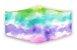 Máscara Tie-Dye Tamanho Adulto - Imagem 1