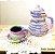 Jogo de chá/café 5 peças - Imagem 3