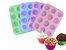 Forma de Silicone P/ Muffin Cupcake 12 Cavidades 29x21,7cm - Imagem 33