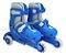 Patins Infantil Menino 3 Rodas Ajustável Inline Triline Azul - Imagem 4