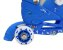 Patins Infantil Menino 3 Rodas Ajustável Inline Triline Azul - Imagem 3