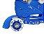 Patins Infantil Menino 3 Rodas Ajustável Inline Triline Azul - Imagem 6