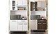 Cozinha Compacta Poliman Móveis Carol com 6 Portas e 1 Gavetas - Imagem 1