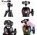 Tripé Manfrotto Compact Light Black Câmera Digital Universal - Imagem 3