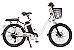 Bicicleta Elétrica Lev E-bike L Aro 24 - Branca - Imagem 1