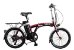 Bicicleta Elétrica Lev E-bike D Aro 20 - Bordô - Imagem 1