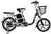 Bicicleta Elétrica Lev E-bike Aro 18 - Cinza - Imagem 1