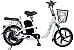 Bicicleta Elétrica Lev E-bike Aro 18 - Branca - Imagem 1