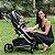 Travel System Winner - Carrinho + Bebê conforto - Preto/Capuccino - Kiddo - Imagem 10