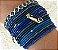 Bracelete em Metal Banho Ouro anti alérgico com Cristais Swarovski varias cores (venda unitária) - Imagem 6