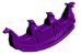Gangorra Infantil 3 Lugares - Certificado Inmetro - Imagem 2