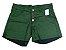 Shorts Hot Pants Feminino Jeans Colorido Plus Size - Imagem 2