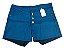 Shorts Hot Pants Feminino Jeans Colorido Plus Size - Imagem 5