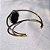 Bracelete de pedra natural estrela  folheado a ouro 18k - Imagem 3
