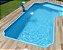 Piscina Fibra Praia Dourada Fibratec (azul e branco) - Imagem 2