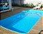 Piscina Fibra Praia Bela Fibratec (azul e branco) - Imagem 2