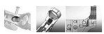 2 Recoil Buffer Amortecedor De Impacto T4, M4, M16, Ar15 Red - Imagem 3