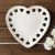 Prato Decorativo Borda Coração Branco 14 Cm - Imagem 4