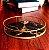 Bandeja de Metal Redonda 23,5 cm Dourado e Preto - Imagem 5