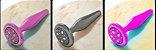 Plug Anal Iupi Dourado 9,5X3Cm Para Iniciantes HA133D - Imagem 8
