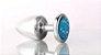 Plug Less P Cromado Com Pedra Cravejada Azul HA143CA - Imagem 6