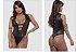 Body Com Tela Linha Madame E-X Miss Collection - Imagem 1