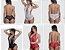Body Sexy Em Renda Frente Única Regulável - Imagem 1