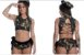Fantasia Militar Eliza Amareto Tamanho: Único (veste do P ao G – 38 ao 42) - Imagem 1