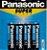 Pilha Panasonic Pequena A A C/4 - Imagem 3