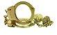Algemas x Plug Anal Com Chaves Cravejado Tam M Dourado HA147D - Imagem 5