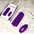 Massageador Capsula Vibração de Multivelocidade Roxo - Imagem 6