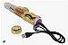 Vibrador Rotativo Jack Rabbit RECARREGÁVEL – Vai e Vem  Dourado Metalizado – Coelhinho - Imagem 2