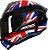 AXXIS DRAKEN UK GLOSS BLACK/RED/BLUE - Imagem 1
