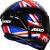 AXXIS DRAKEN UK GLOSS BLACK/RED/BLUE - Imagem 4