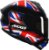 AXXIS DRAKEN UK GLOSS BLACK/RED/BLUE - Imagem 5