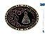 Fivela Nossa Senhora Aparecida Sumetal 10571Fj - Imagem 1