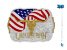 Fivela Longhorn Bandeira Sumetal 10573F - Imagem 1