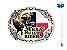 Fivela Texas Bull Rider Sumetal 6460F - Imagem 1