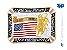 Fivela Touro Bandeira American Sumetal 9028F - Imagem 1