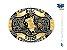 Fivela Touro Bull Rider Colors Sumetal 9743FJ - Imagem 1