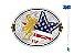Fivela Sumetal Touro Bandeira Stars Buckles 10600f - Imagem 1