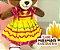 Vestido Amarelo e Rosa - Imagem 2