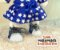 Tênis Azul Glitter - Imagem 2