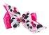 Kit Tiara e Laço Rosa Pink Urso Panda - Imagem 3