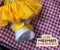Tênis Jeans Amarelo Velcro - Imagem 2