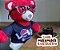 Urso Pelo Alto Vermelho - Imagem 3