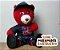 Urso Pelo Alto Vermelho - Imagem 4