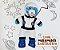 Macacão Astronauta com Capacete - Imagem 2